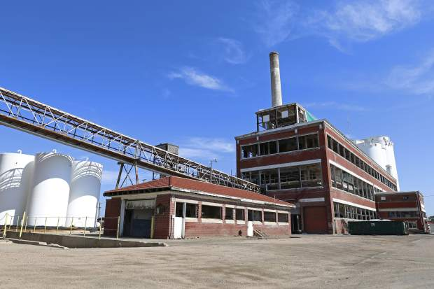 The Brighton sugar factory is one of the few still standing from The Great Western Sugar Company. The building located at US 85 and Weld County Road 2 is currectly in preparation of demolition.