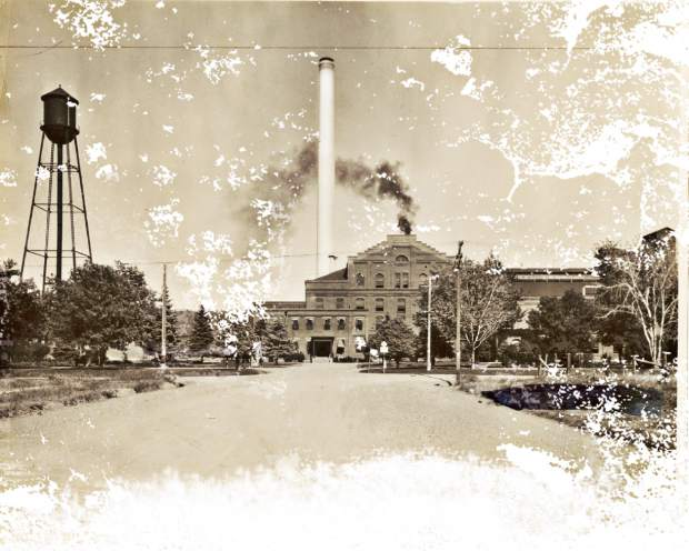 Smoke rises from the former Great Western Sugar Company's sugar beet factory in Greeley in this historical photo. The Greeley Tribune looks back at the roots of agriculture and how sugar beets changed the landscape of the industry for the region.