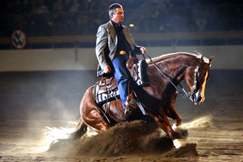 15 000 Dodge Invitational Freestyle Reining At The 2010