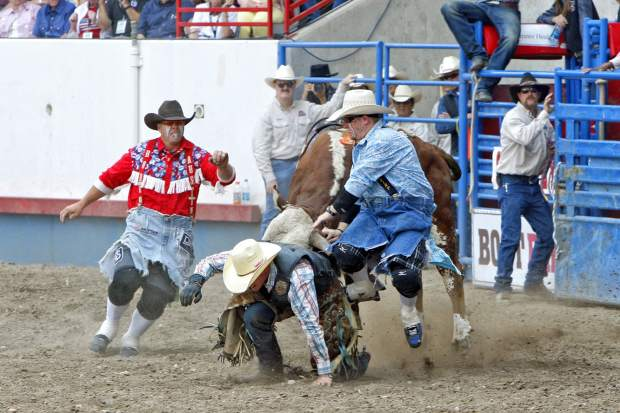 Rodeo Action At The 90th Annual Greeley Stampede