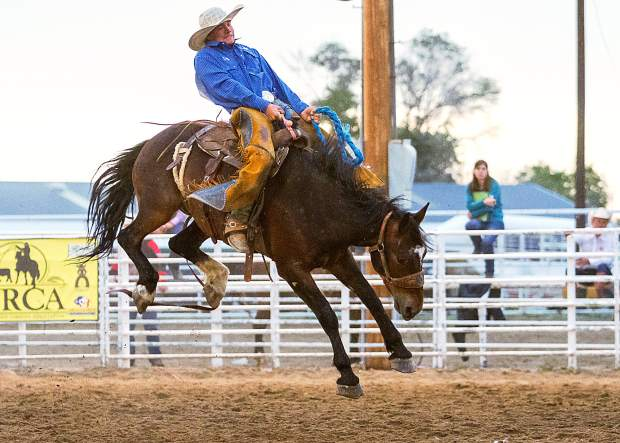 Austin Kuhn  Bronc Rider  Iron Springs Ranch and Welch Cattle Company