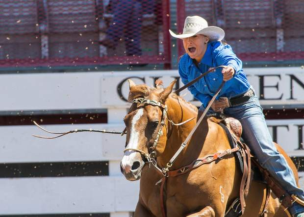 Barrel racing is over so quickly that it is sometimes hard to see the rider's intensity, and the noise of the cheering fans obscures the communications to the horse.