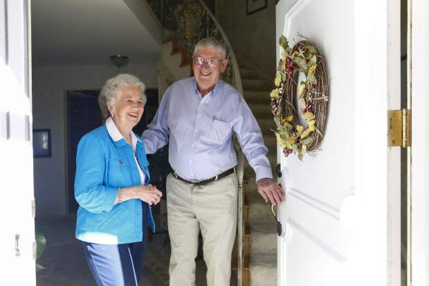 Bill and Sylvia Webster have been married for 63 years and have three children.