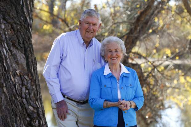 Bill Webster graduated at 81 years old from Colorado State University with a bachlor degree in Animal Science.