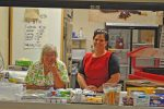 Niobrara County School District Food Director Judy Lucas and coworker LaTrisha Molzahn are ready to supply students with a breakfast not limited by National School Lunch Program. Photo courtesy of Jennifer Kottwitz