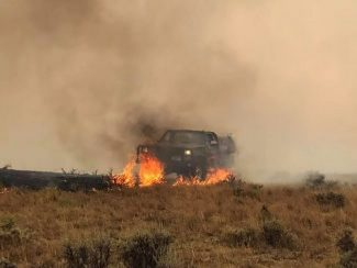 'Nowhere for cattle to go,' some Montana ranches totally burned, Lodgepole Complex fire still burning