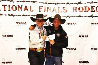 Quint, saddle bronc rider from Colo., injured at WSRRA