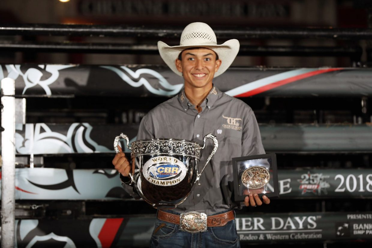 Silvano Alves Wins Pbr At Cheyenne Frontier Days