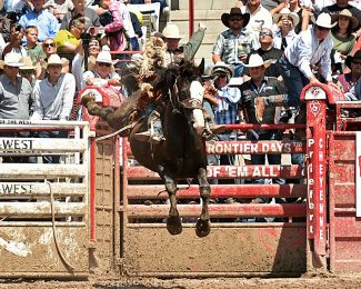 Brody Cress makes history at 122nd Cheyenne Frontier Days