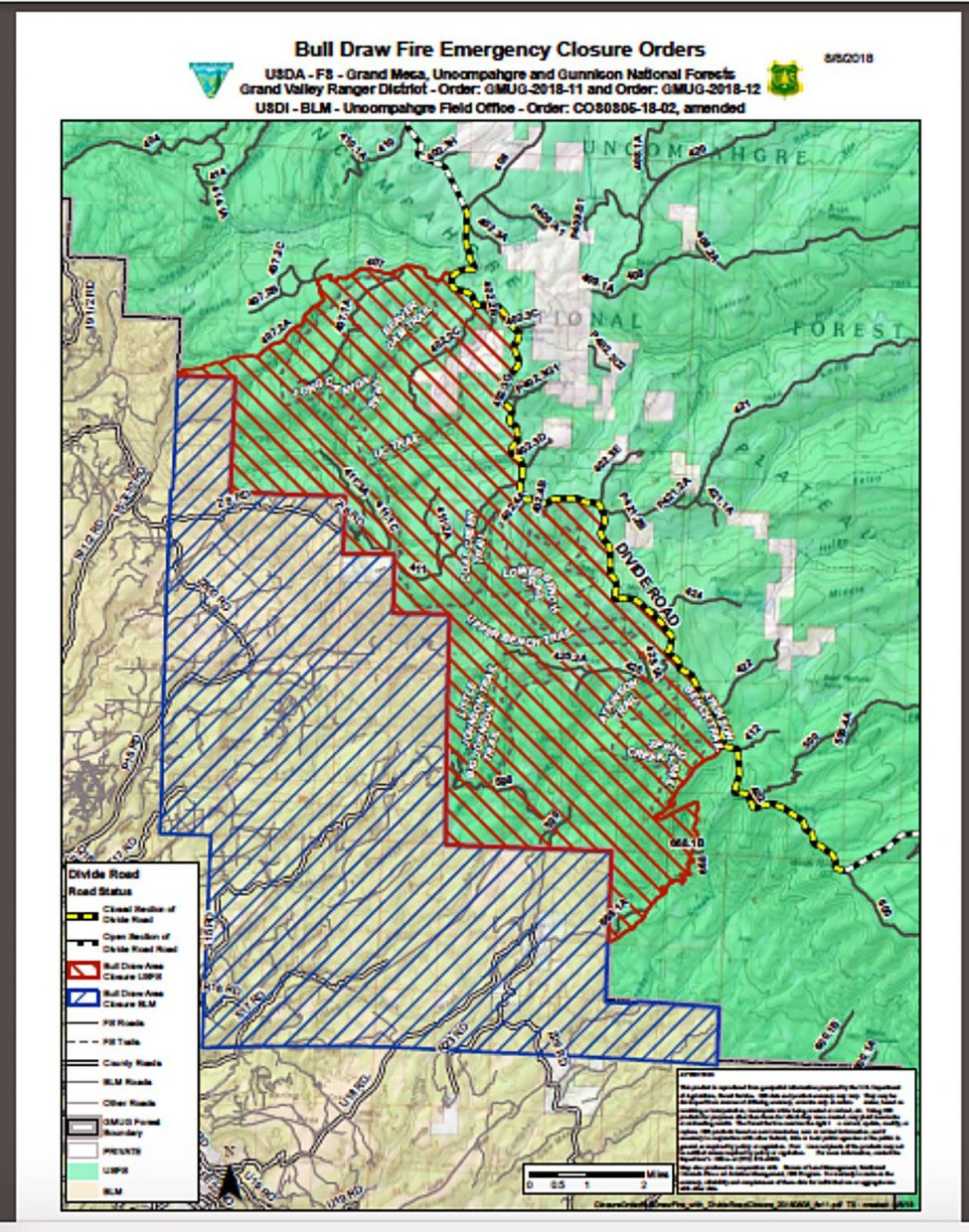 Fires Colorado Map.Colorado S Bull Draw Fire Grows By 5 000 Acres Thefencepost Com