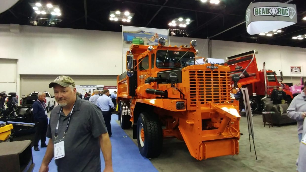 Mr. Truck goes to the NETA Work Truck Show