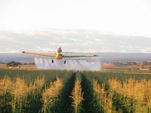 A challenging time for aerial applicators as they share the air with other aircraft