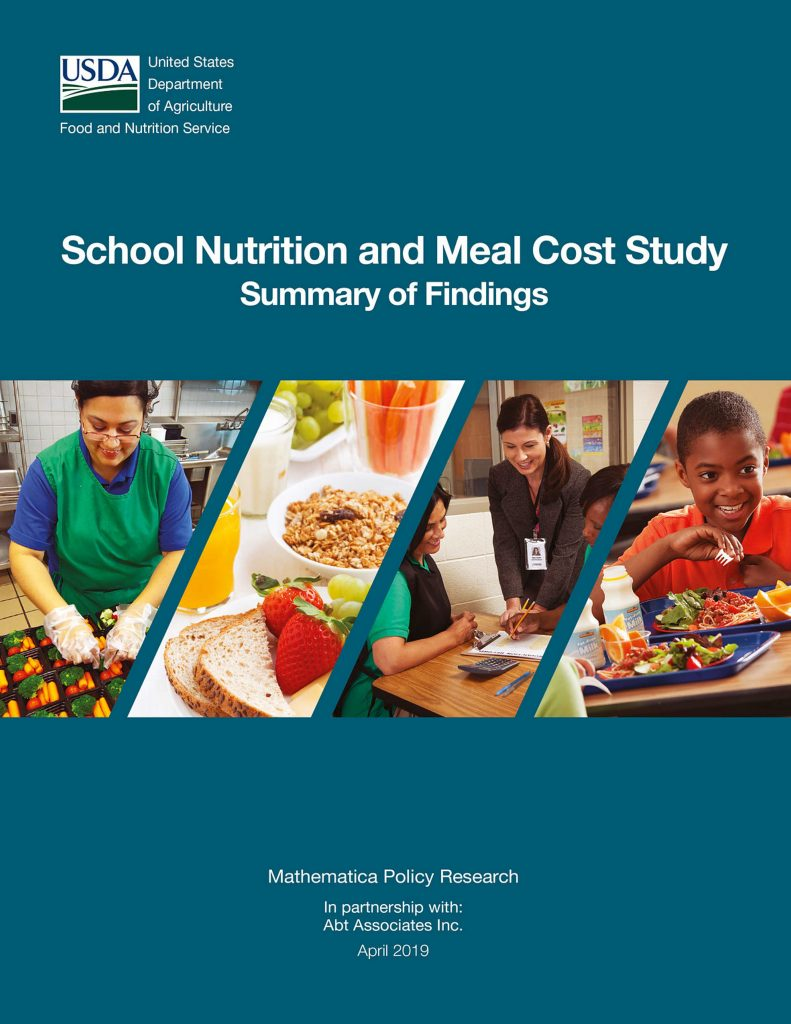 Study: School meals improve under post-2010 standards