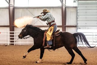 Cowboy Mounted Shooting fastest growing equine sport