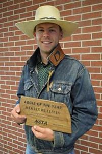 Kansas cowboy is NCTA Aggie of the Year
