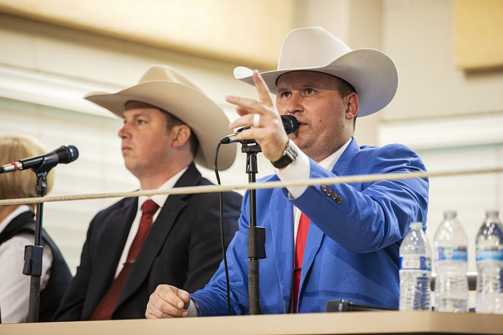 Sleep wins 2019 World Livestock Auctioneer Championship