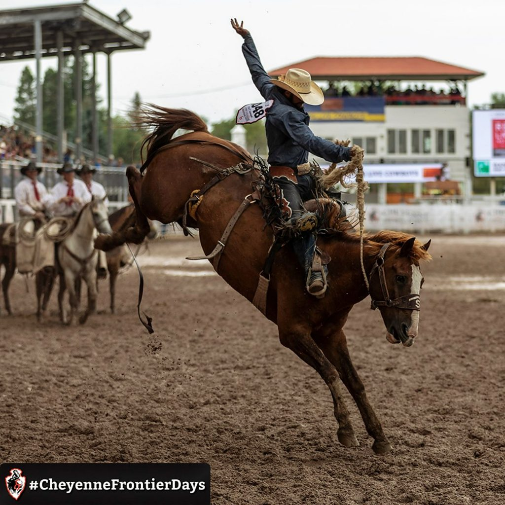 New app lets visitors be part of rodeo rides at the 2019 Cheyenne Frontier Days