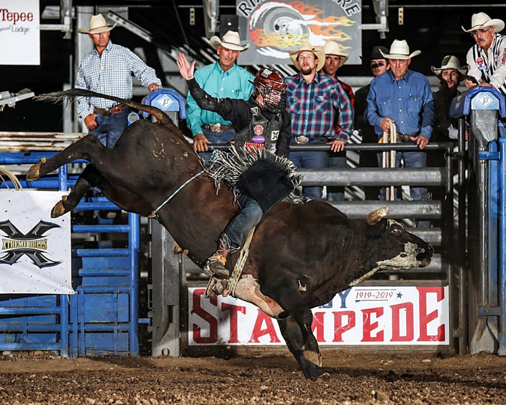 Breding Looking For Cody Stampede Bull Riding Title