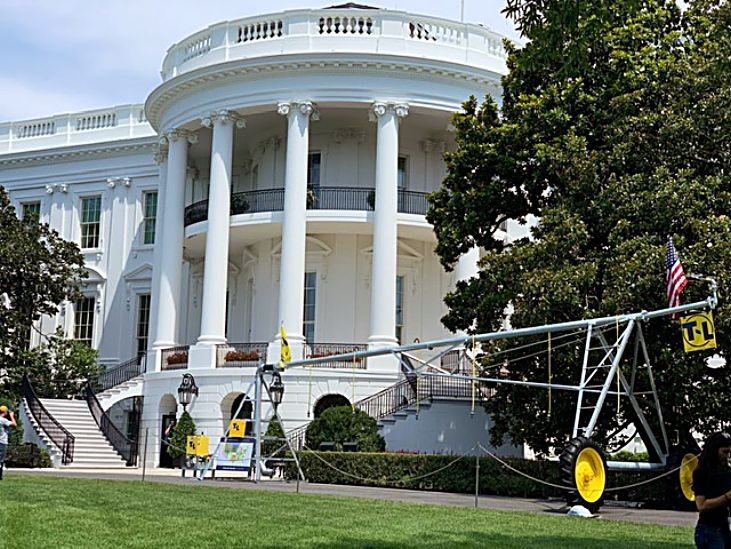 Nebraska's T-L Irrigation attends 2019 Made in America Day at the White House